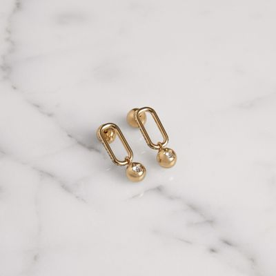 Burberry Crystal Charm Gold-plated Ring s7rMl