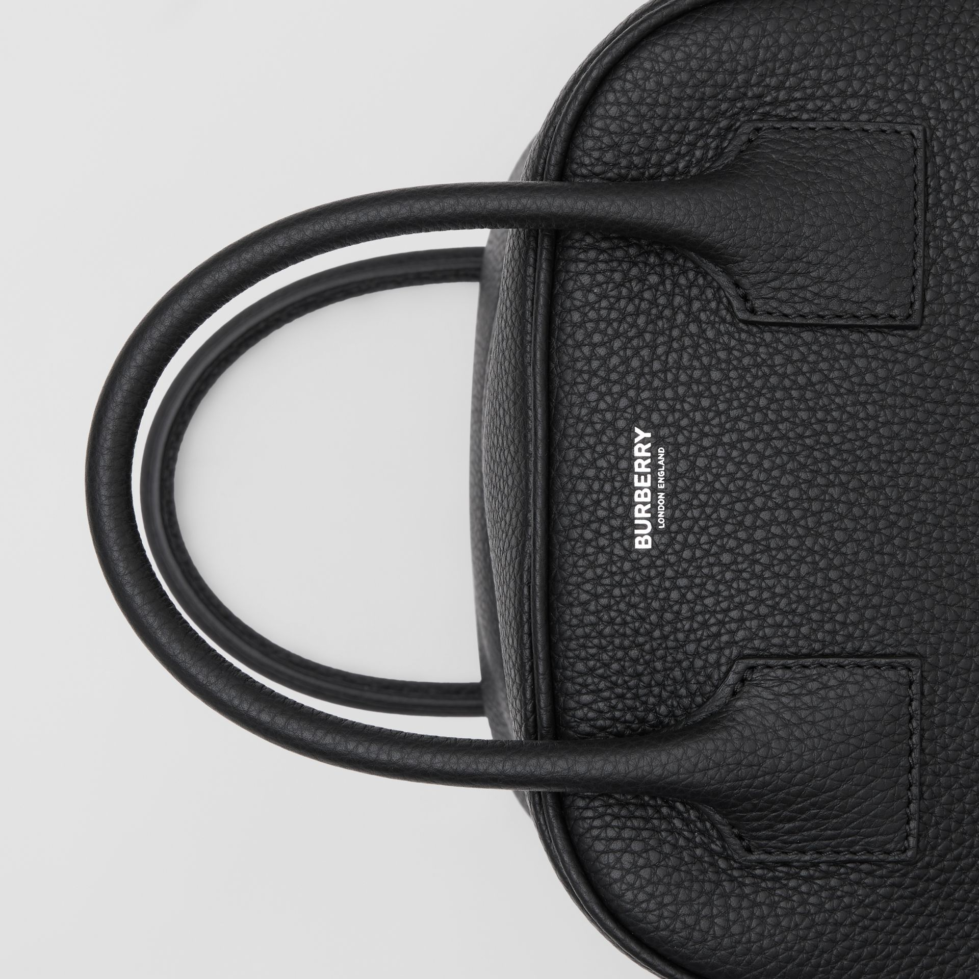 Small Leather Cube Bag in Black - Women | Burberry United Kingdom - gallery image 1