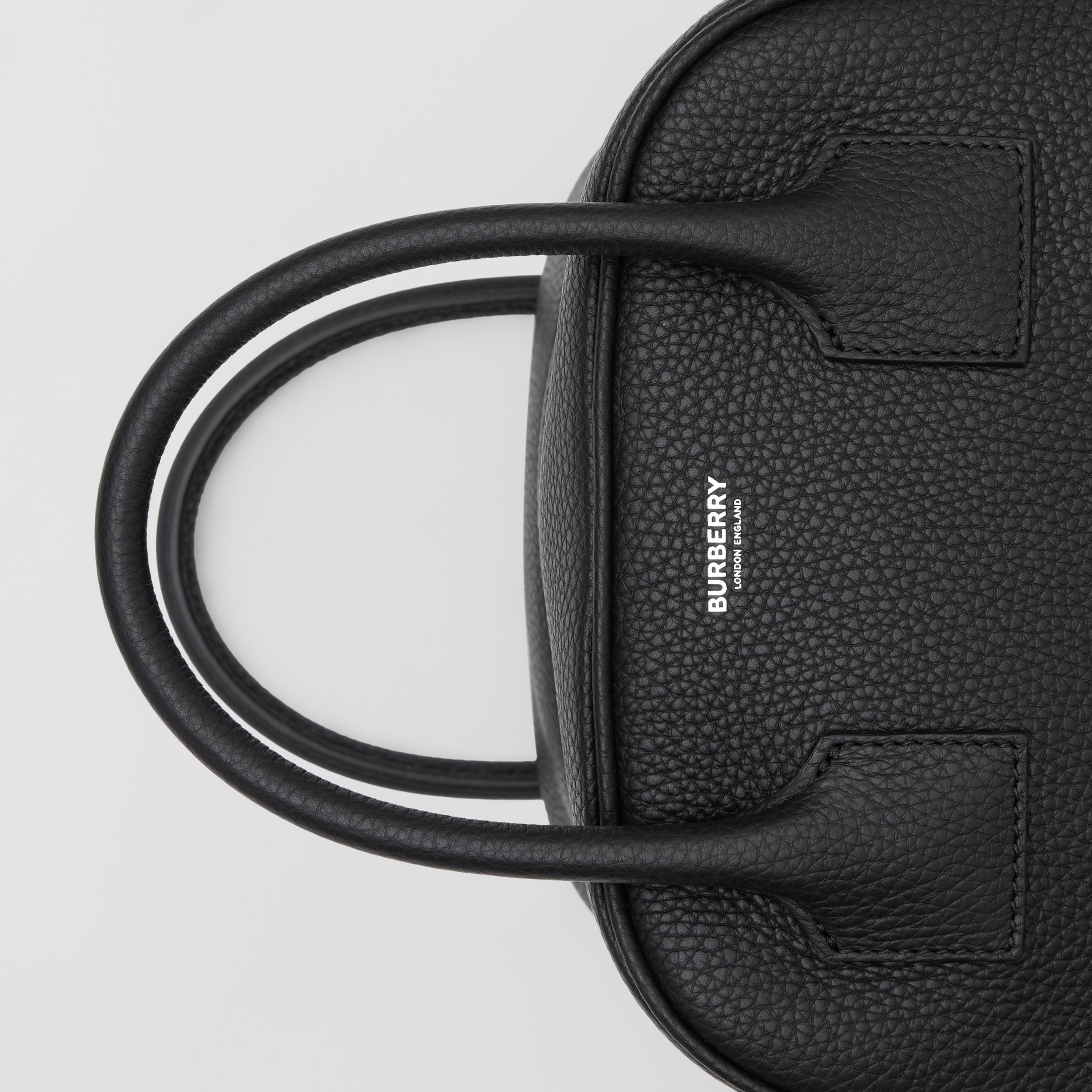 Small Leather Cube Bag in Black - Women | Burberry Australia - 2
