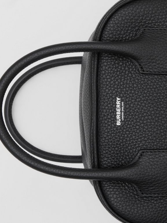 Small Leather Cube Bag in Black - Women | Burberry United Kingdom - cell image 1