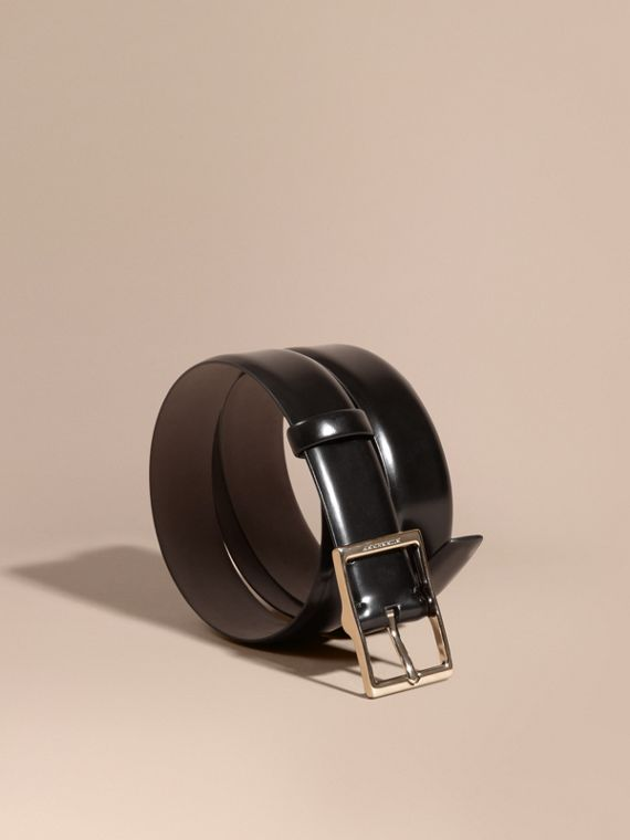 Bridle Leather Belt Black