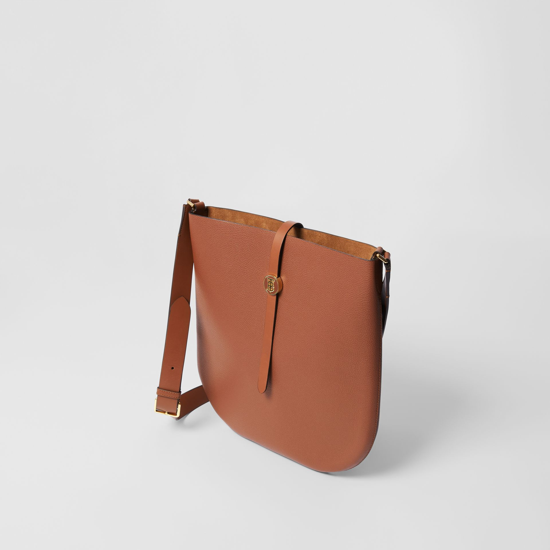 Grainy Leather Anne Bag in Tan - Women | Burberry United Kingdom - gallery image 2