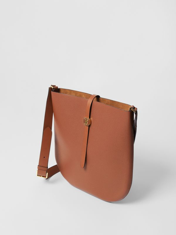 Grainy Leather Anne Bag in Tan - Women | Burberry United Kingdom - cell image 2