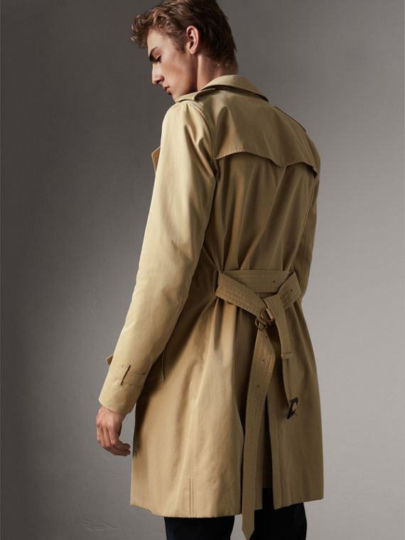 The Sandringham – Long Trench Coat in Honey - Men | Burberry - cell image 2