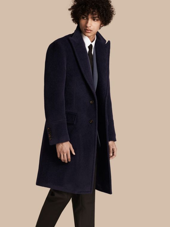 Alpaca Wool Overcoat