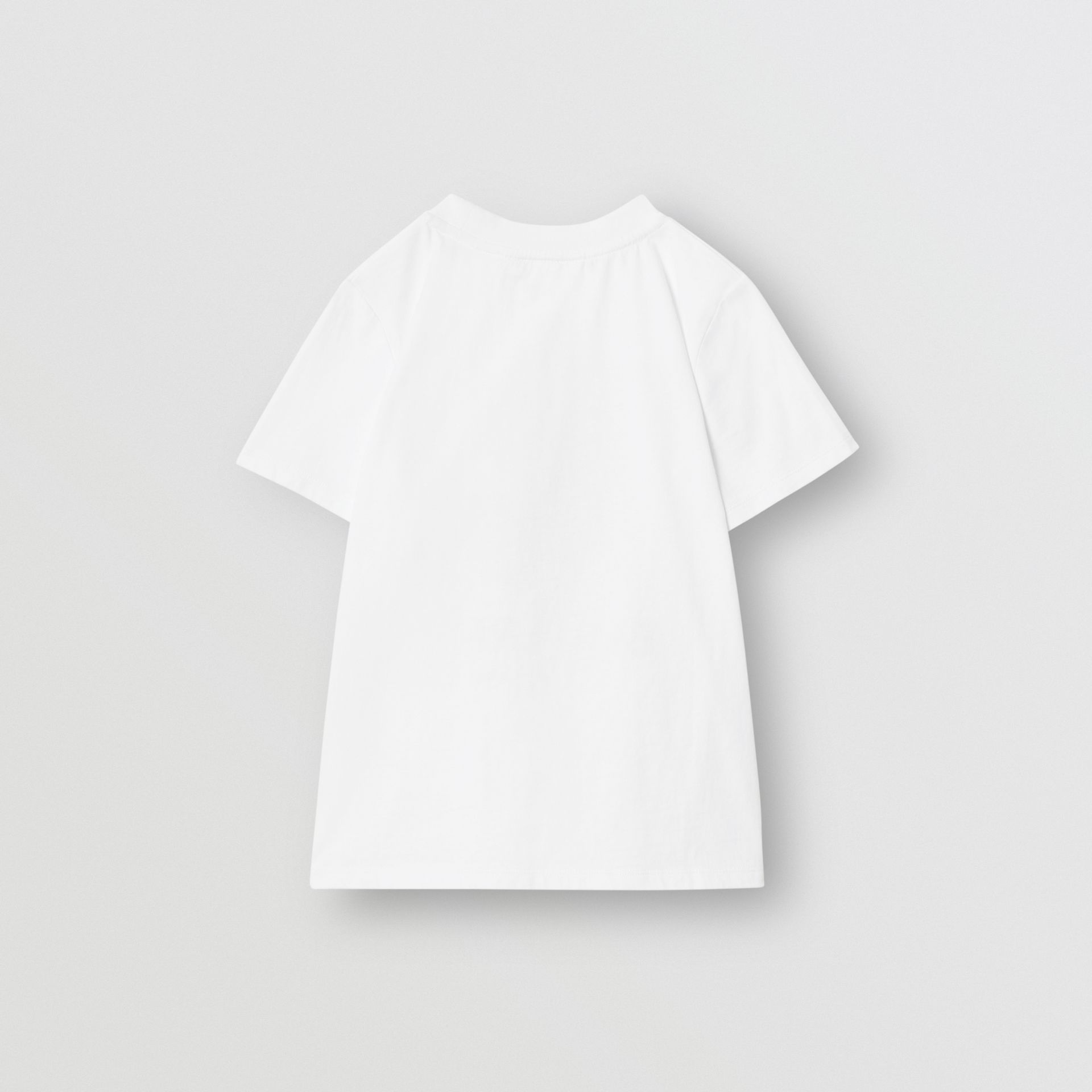 Vintage Photo Print Cotton T-Shirt in White | Burberry United Kingdom - gallery image 4