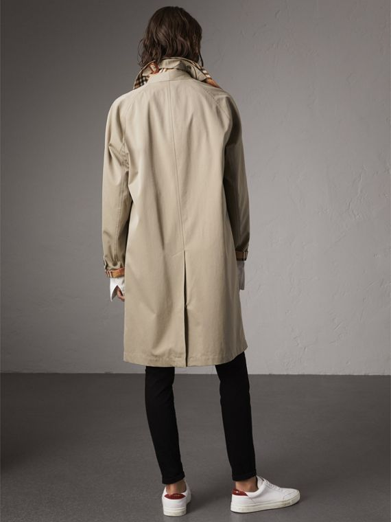 The Camden – Long Car Coat in Sandstone - Women | Burberry Singapore - cell image 2