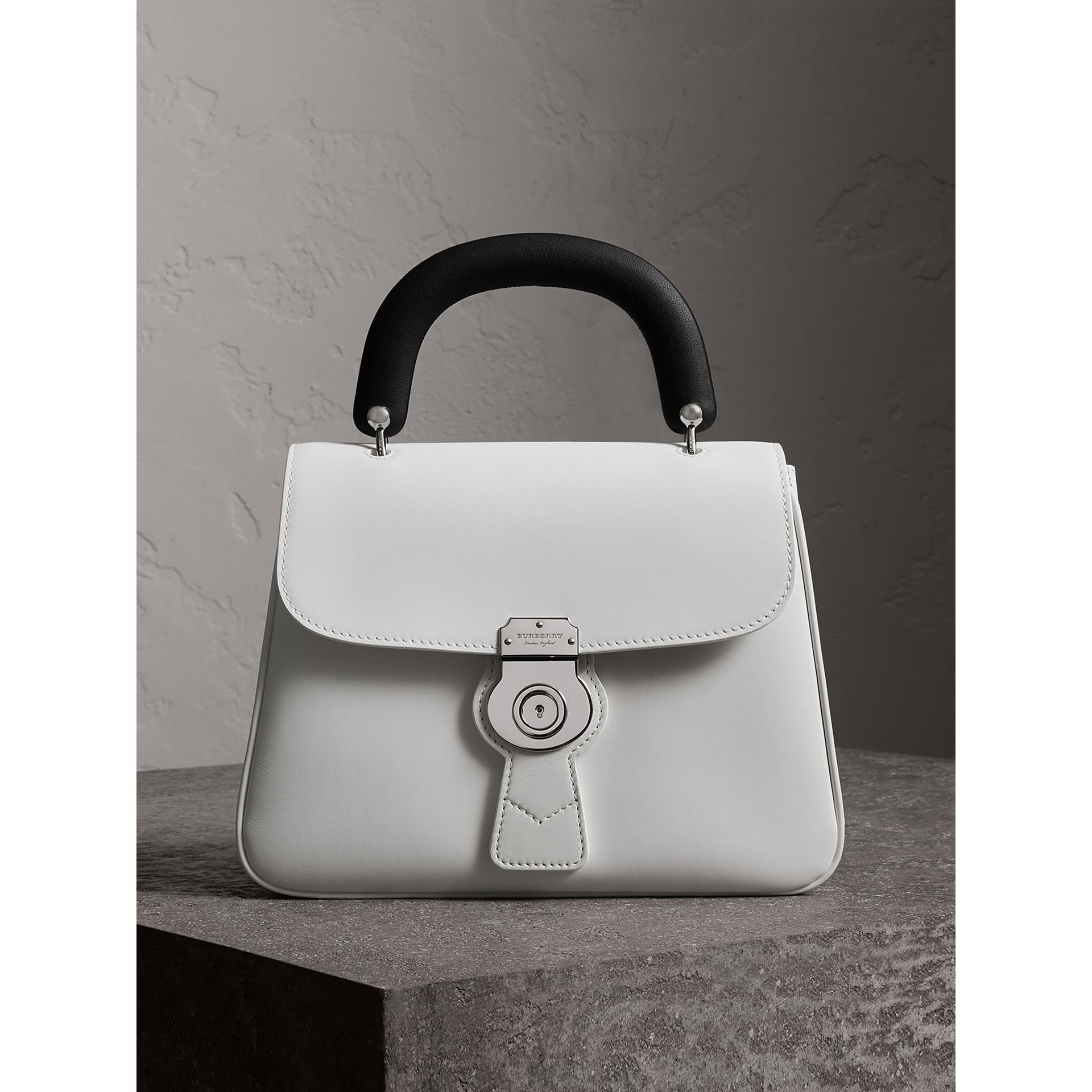 The Medium DK88 Top Handle Bag in Chalk White - Women | Burberry - gallery image 1
