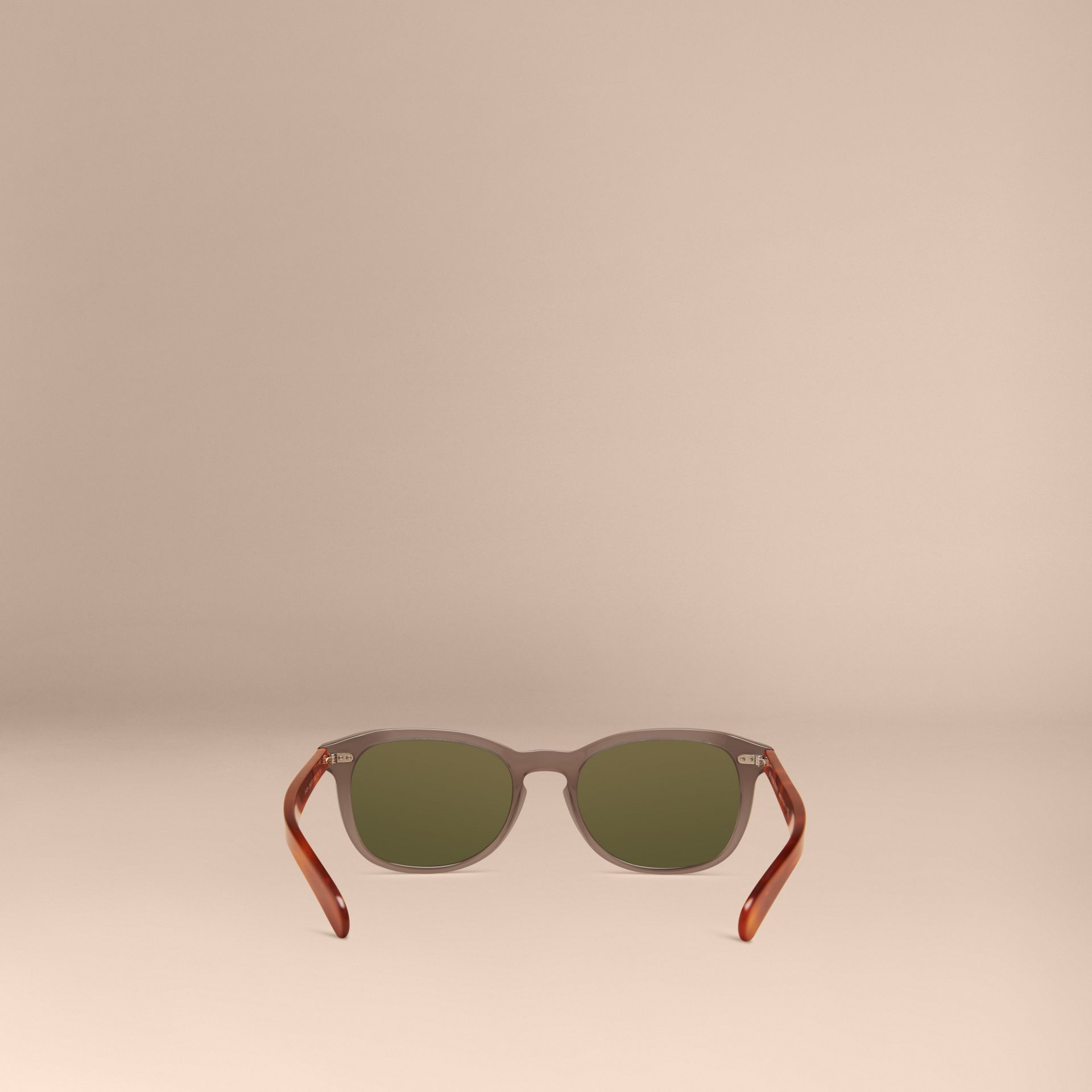 Smokey grey Square Frame Sunglasses Smokey Grey - gallery image 4