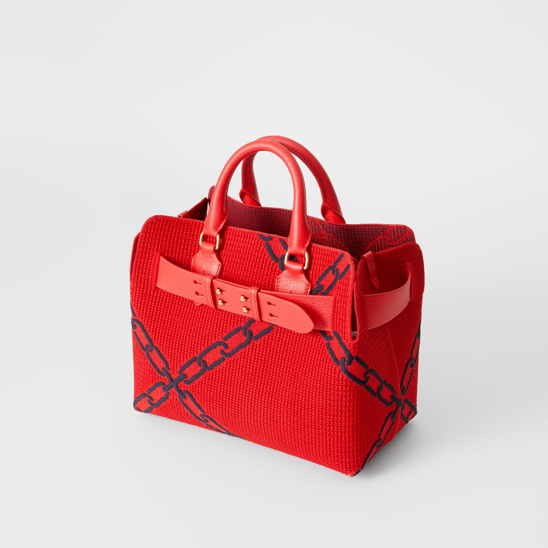 The Small Belt Bag mit Kettenmuster in Strickoptik (Leuchtendes Rot/blau) - Damen | Burberry - Galerie-Bild 2