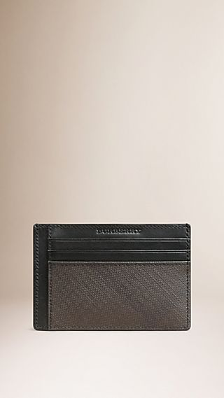 London Check Card Case
