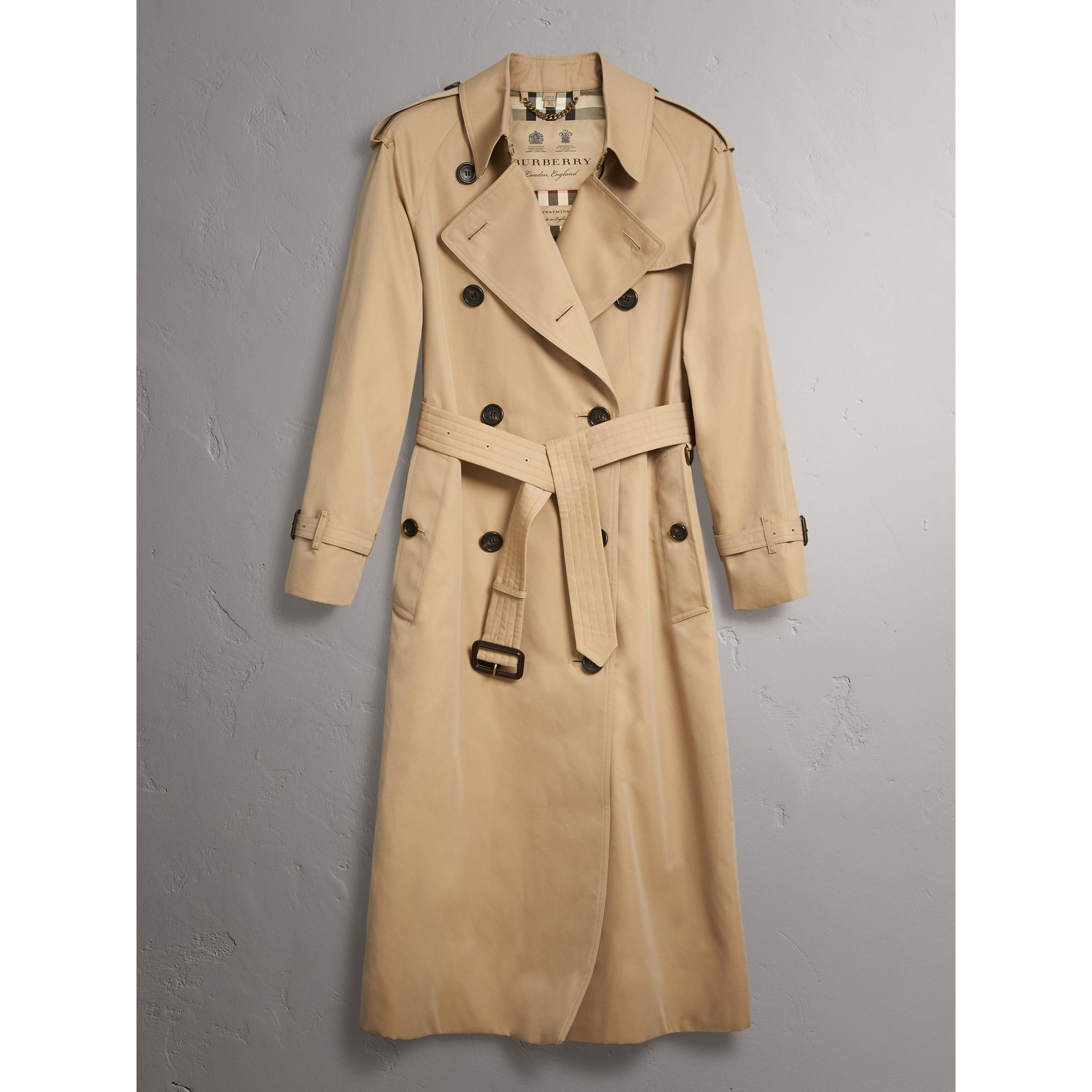 The Westminster – Trench extra-long (Miel) - Femme | Burberry - photo de la galerie 3