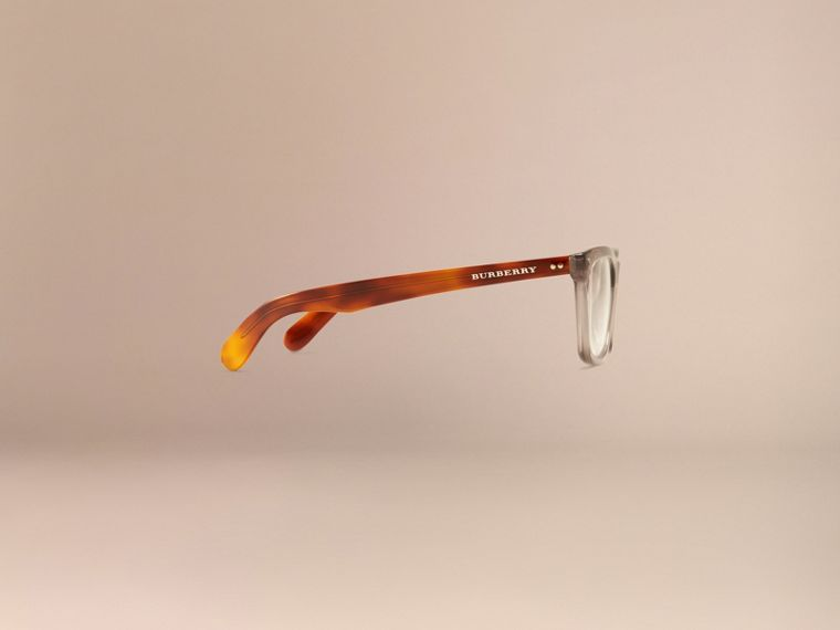 Square Optical Frames Smokey Grey - cell image 4