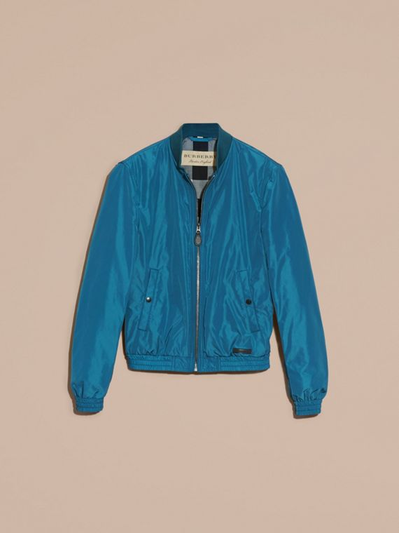 Pale petrol blue Showerproof Bomber Jacket Pale Petrol Blue - cell image 3