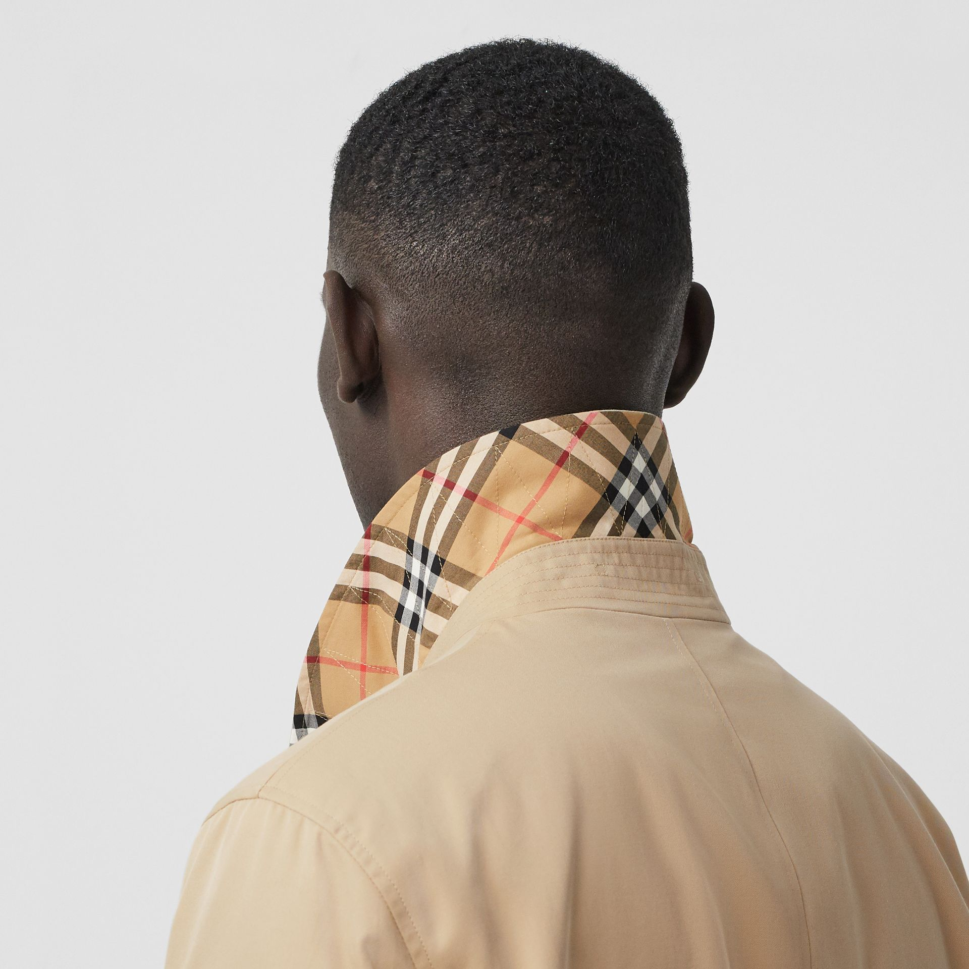 The Pimlico Car Coat in Honey - Men | Burberry Australia - gallery image 5