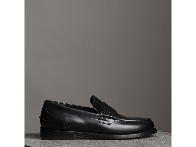 Pennyloafer aus Leder (Schwarz) - Herren | Burberry - cell image 4