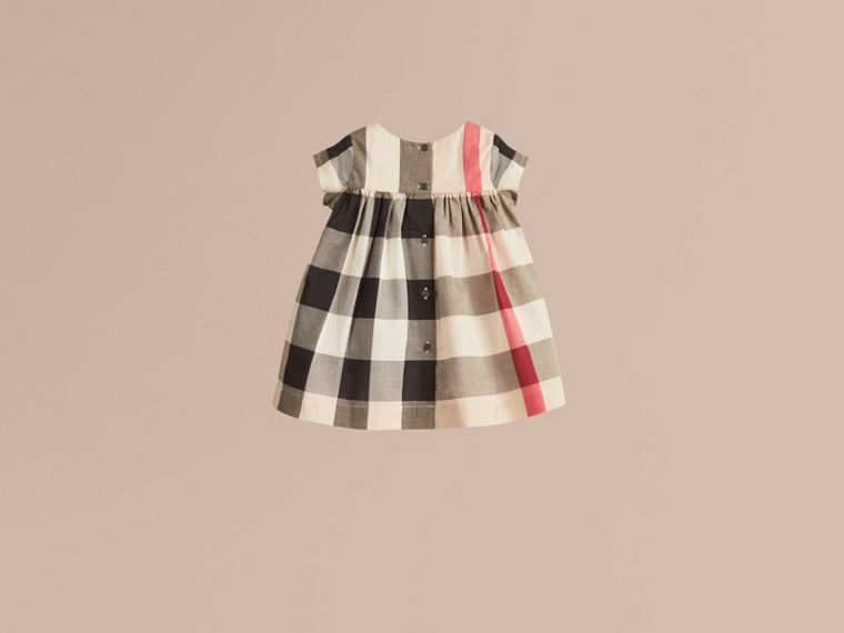 Check Cotton Dress - Girl | Burberry - cell image 2