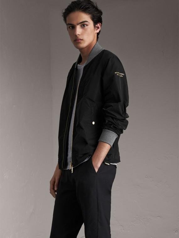 Куртка «пилот» из тафты