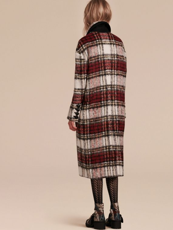 Elderberry The Check Coat - cell image 2