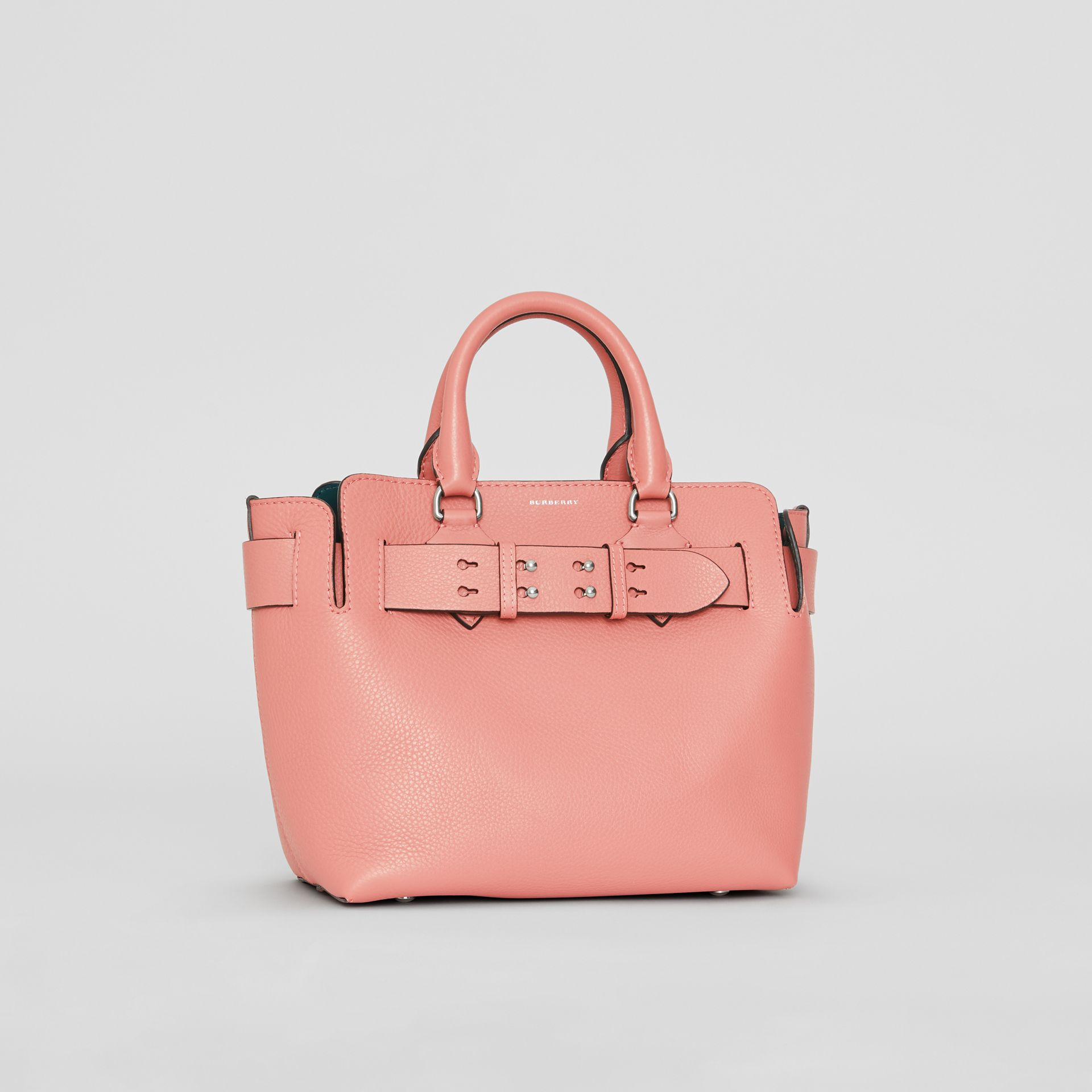 The Small Leather Belt Bag in Dusty Rose - Women | Burberry United Kingdom - gallery image 6