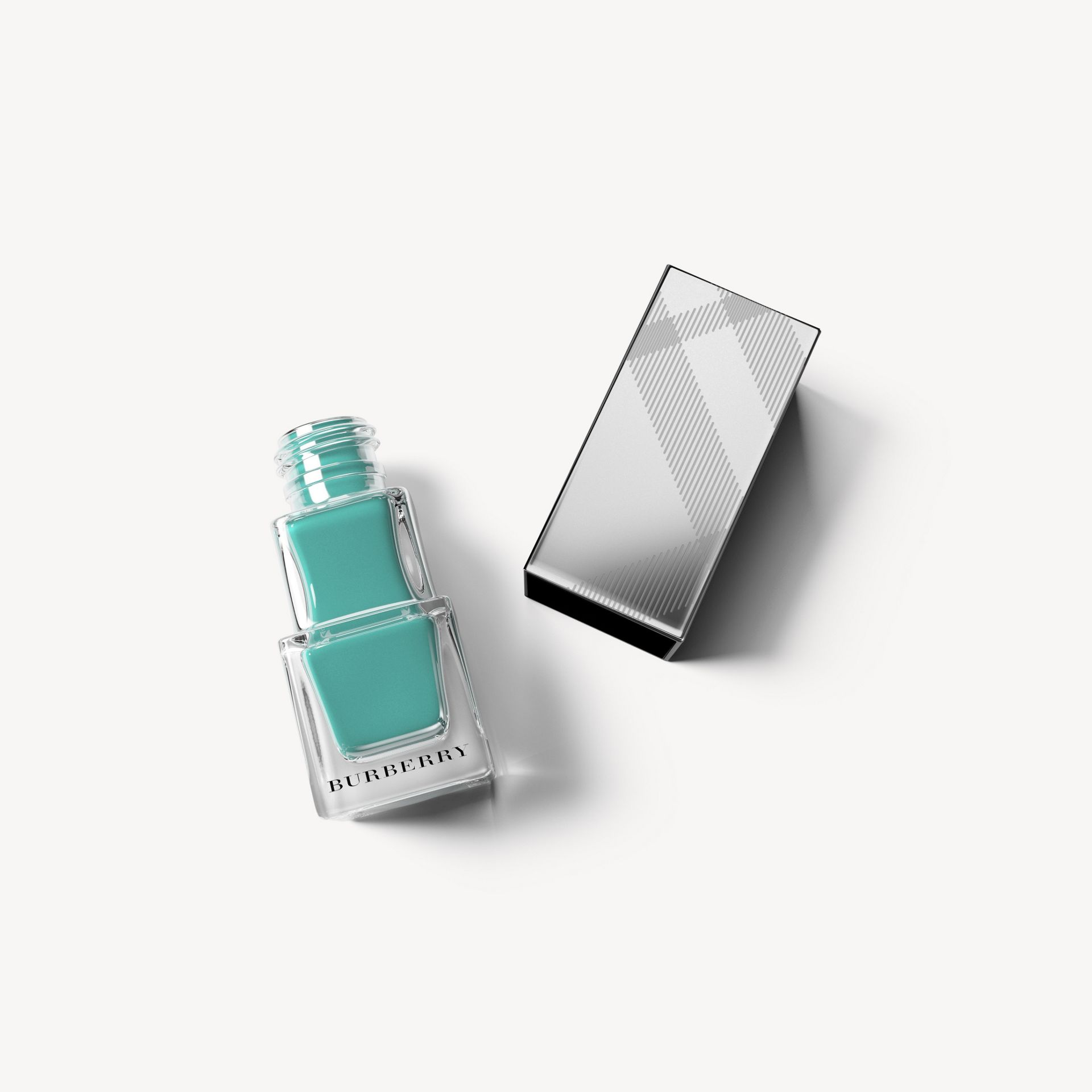 Nail Polish – Aqua Green No.418 - Women | Burberry - gallery image 1