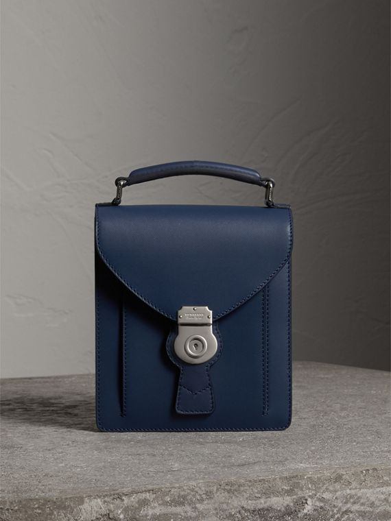 The Small DK88 Satchel in Ink Blue