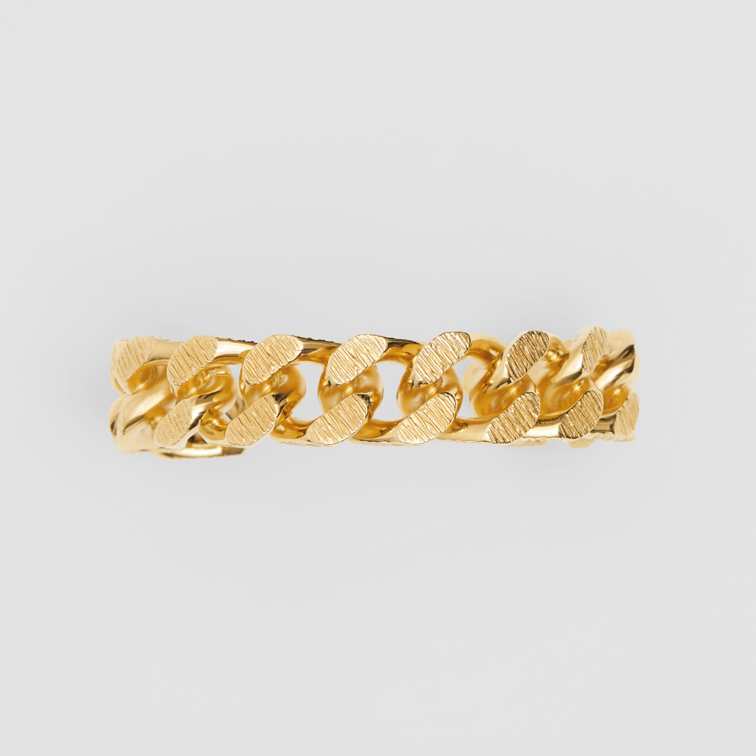 Gold-plated Chain-link Cuff in Light - Women | Burberry - 4