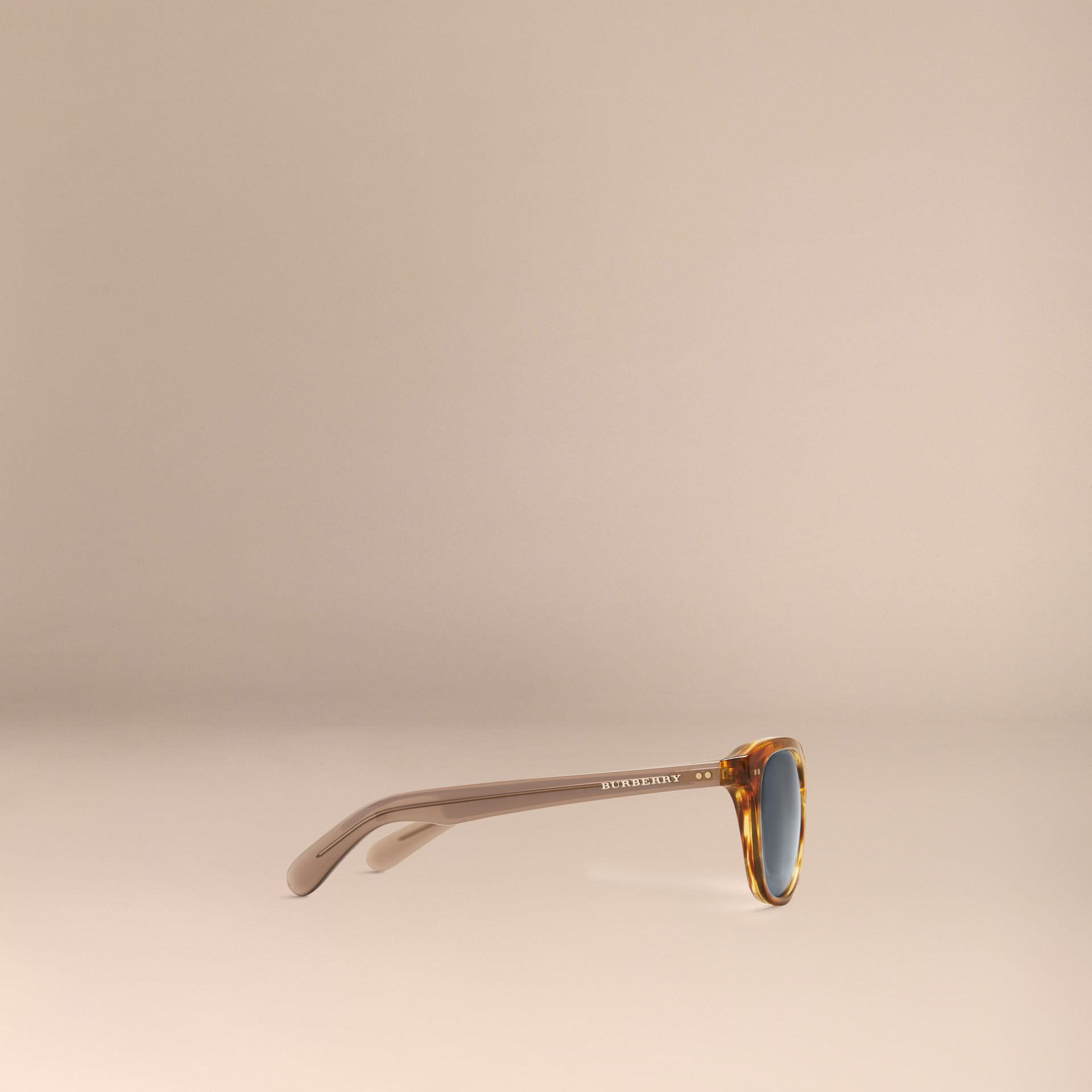 Tortoise amber Square Frame Sunglasses Tortoise Amber - gallery image 5