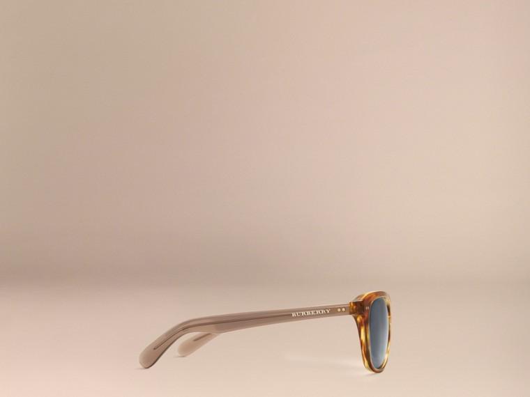 Tortoise amber Square Frame Sunglasses Tortoise Amber - cell image 4