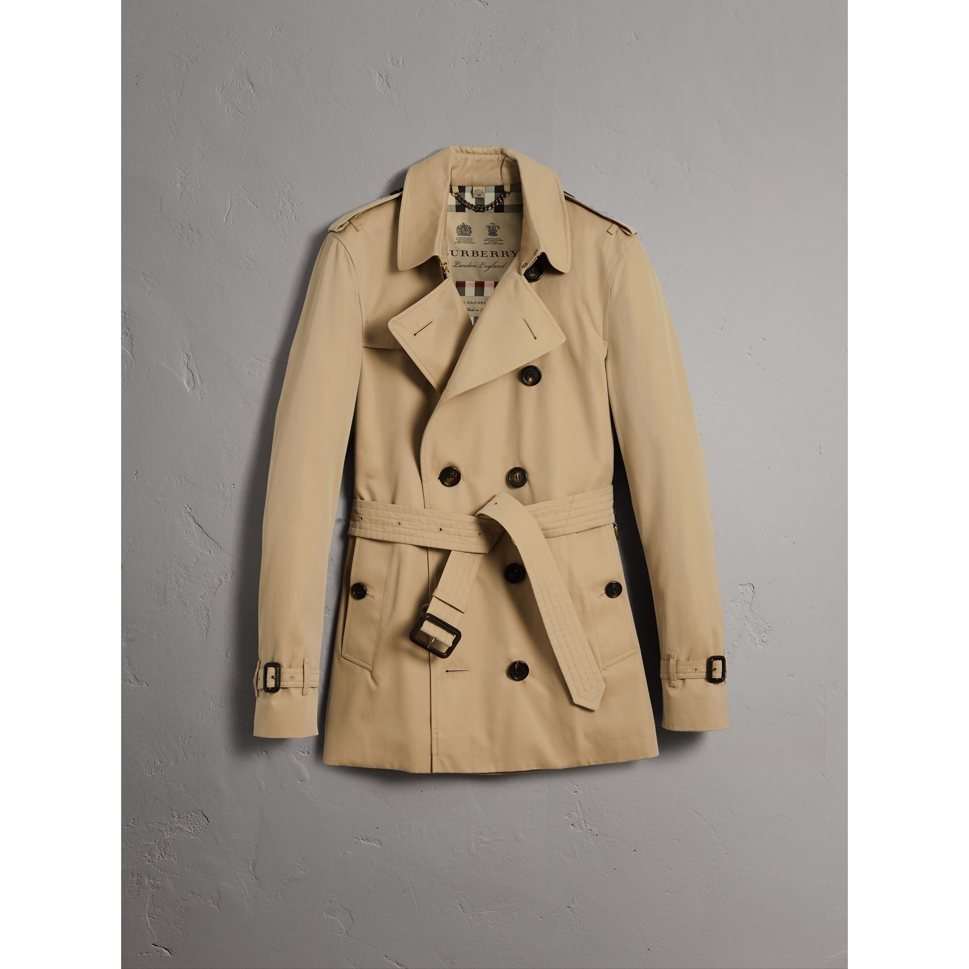 The Sandringham – Trench court (Miel) - Homme | Burberry - photo de la galerie 3