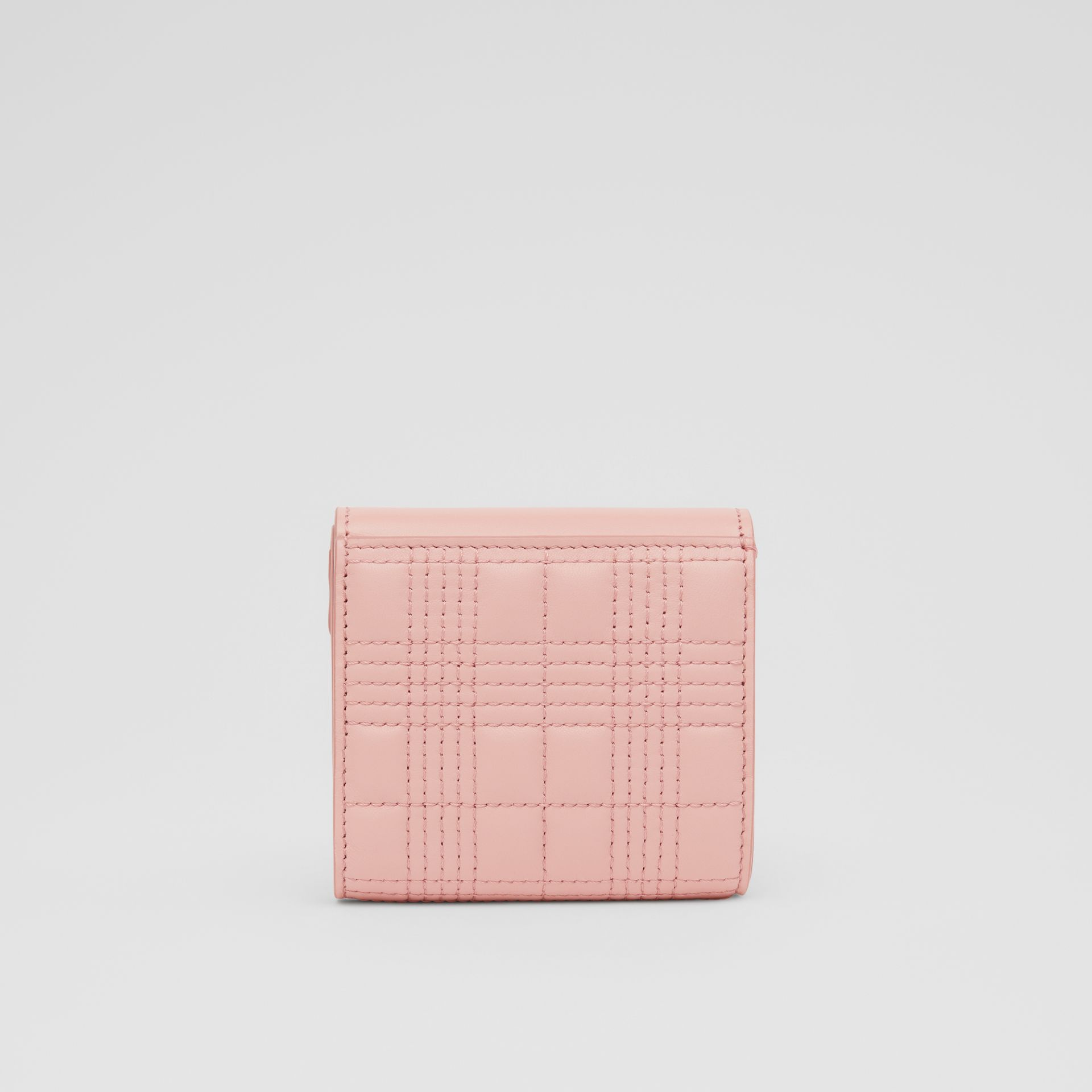 Quilted Lambskin Folding Wallet in Blush Pink - Women | Burberry Hong Kong S.A.R - gallery image 3