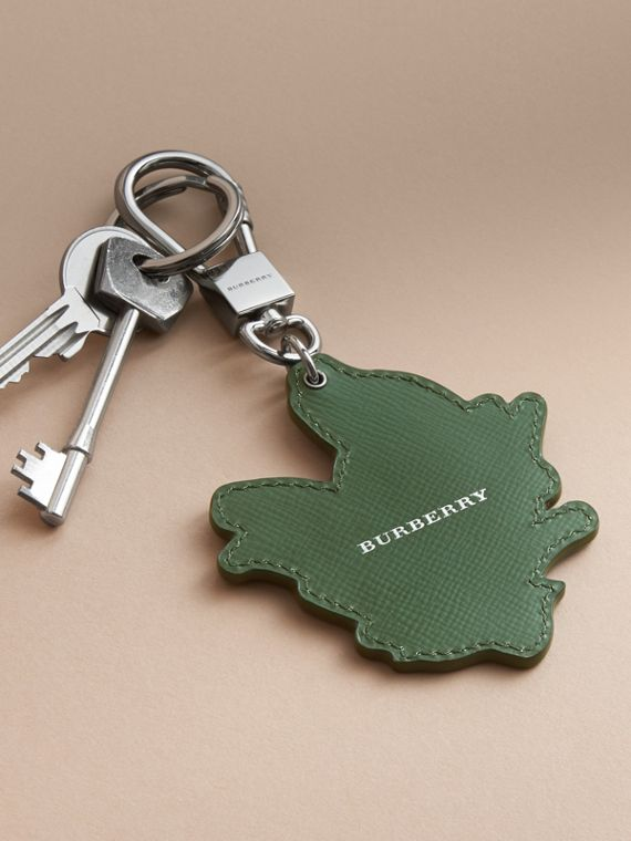 Beasts Leather Key Ring in Honey - cell image 3