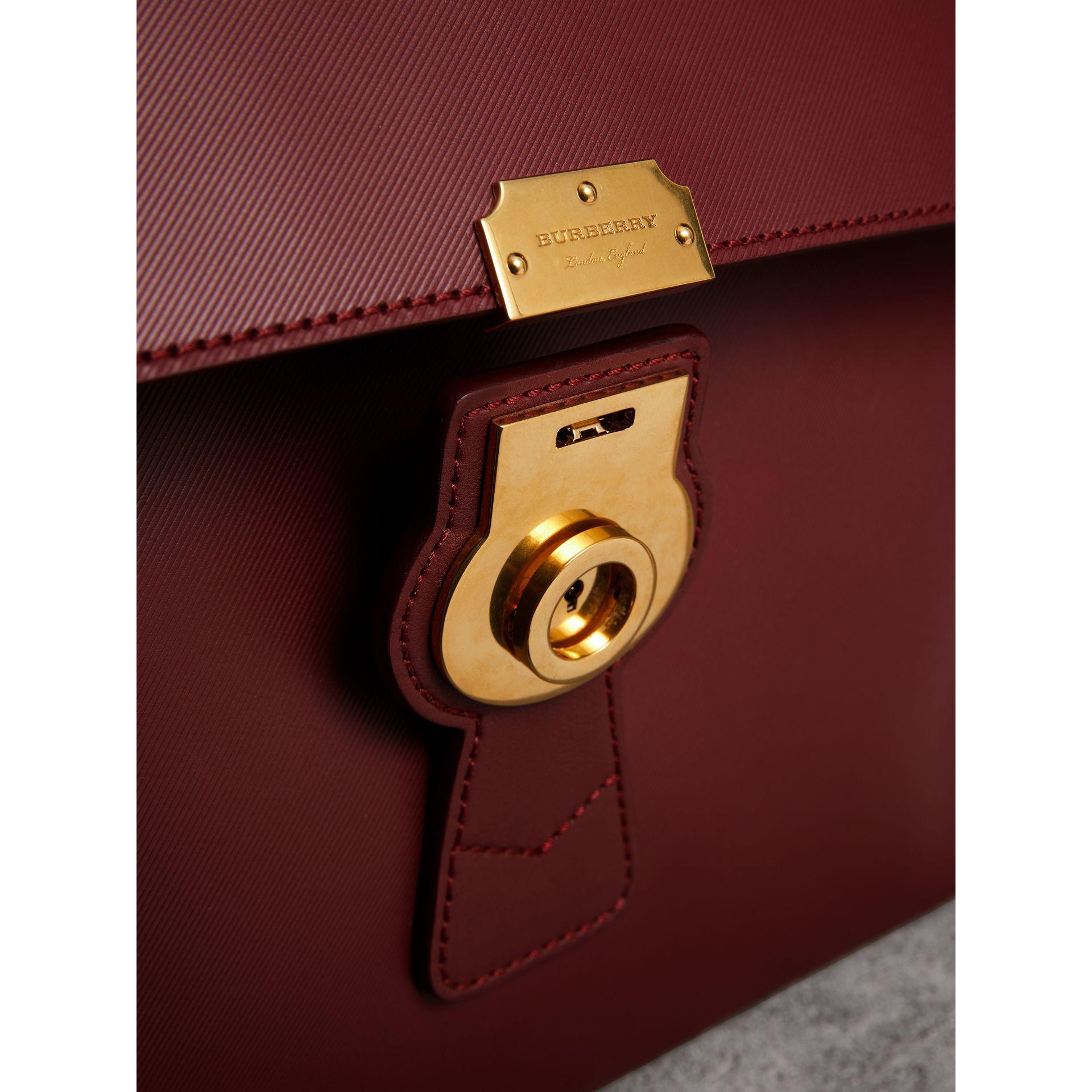 The Large DK88 Document Case in Antique Red - Men | Burberry - gallery image 2