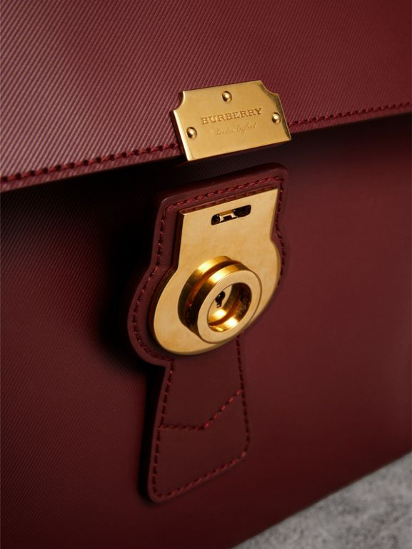 The Large DK88 Document Case in Antique Red - Men | Burberry - cell image 1