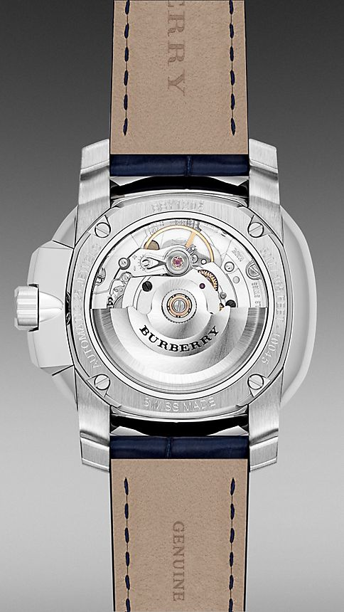 Navy blue The Britain BBY1205 43mm Automatic - Image 4