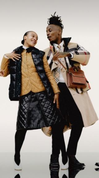 Modern Heritage: Burberry Coats