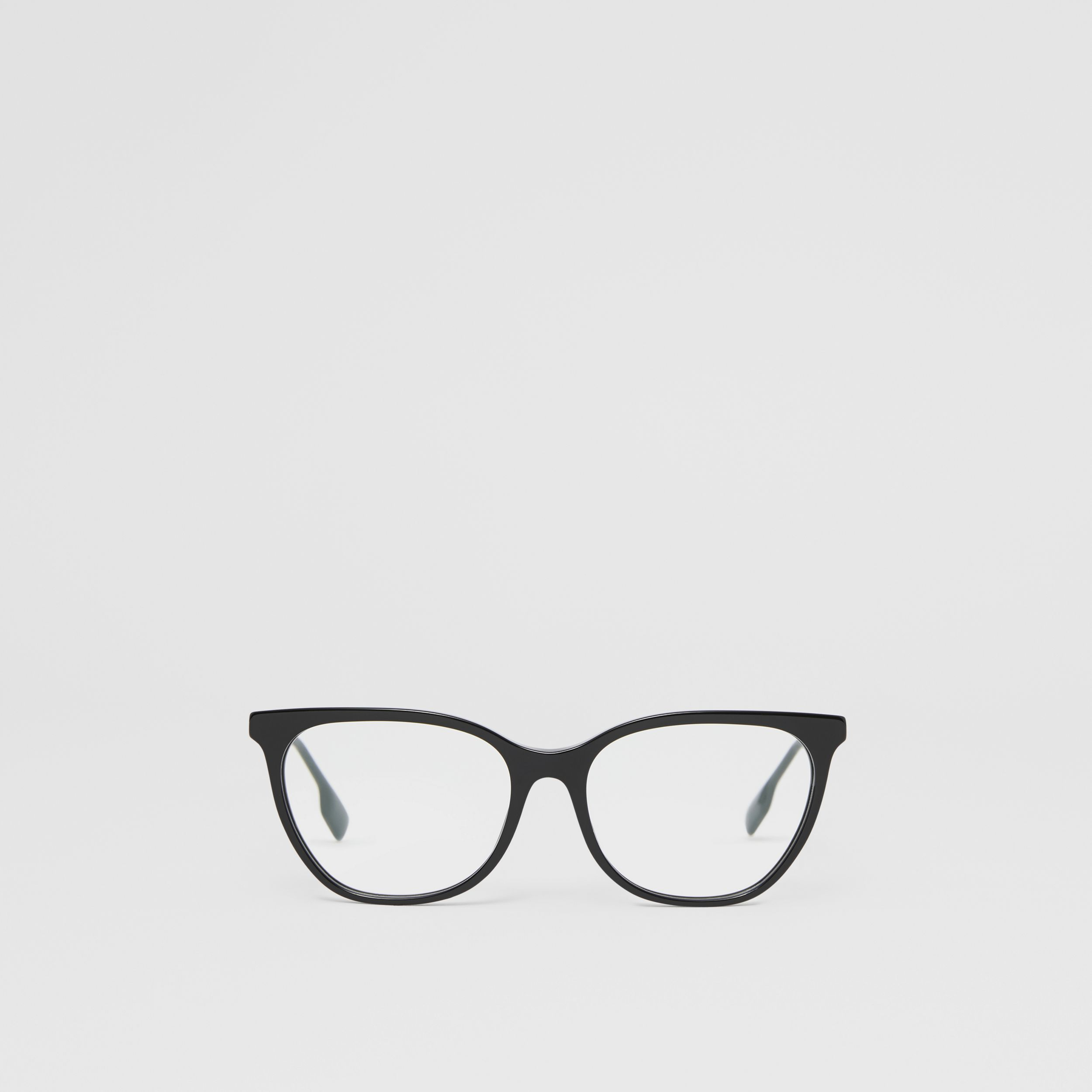 Cat-eye Optical Frames in Black - Women | Burberry - 1