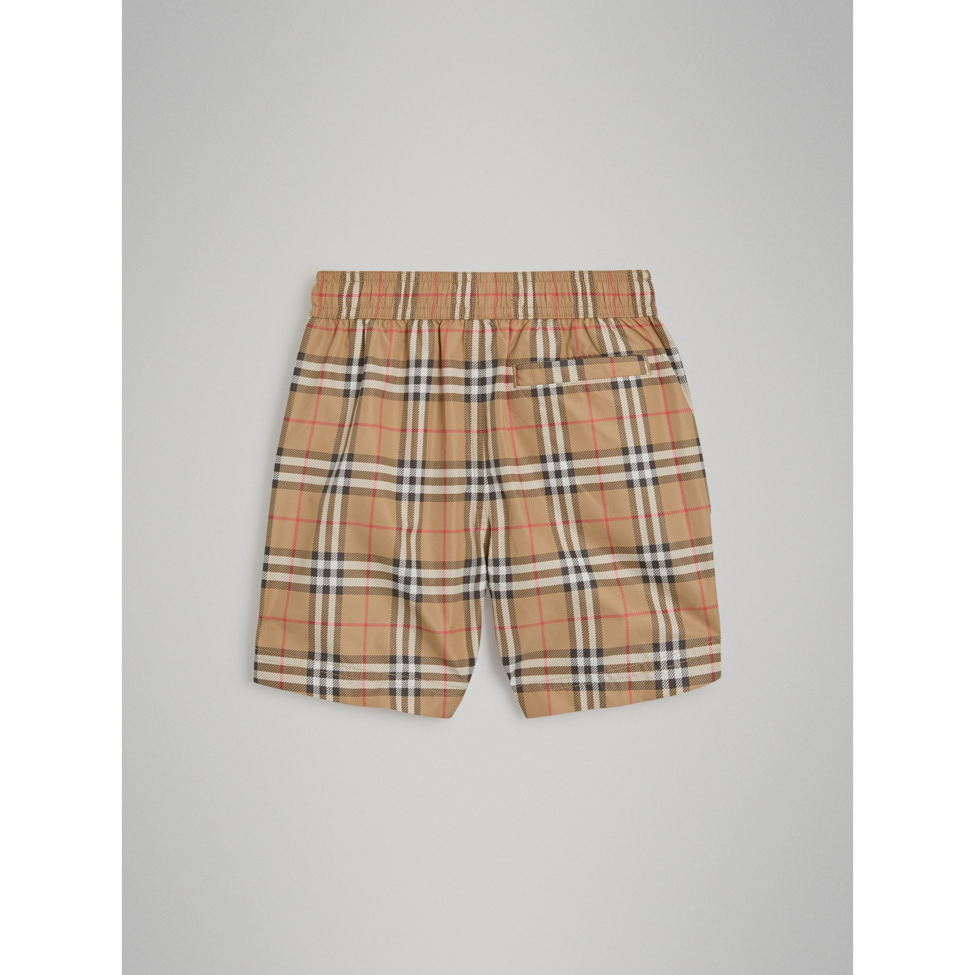 Vintage Check Swim Shorts in Camel - Boy | Burberry Canada - gallery image 3