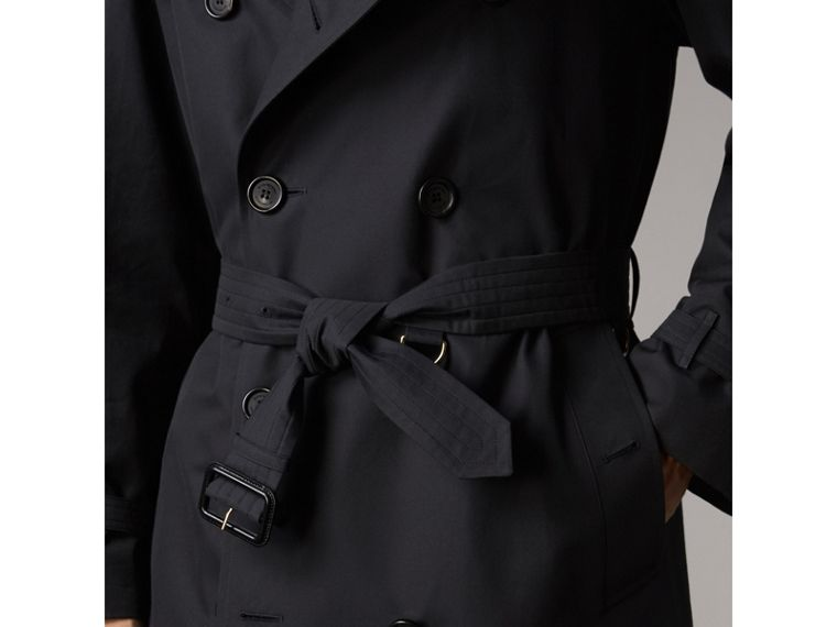The Westminster - Trench coat extralongo (Azul Marinho) - Homens | Burberry - cell image 4