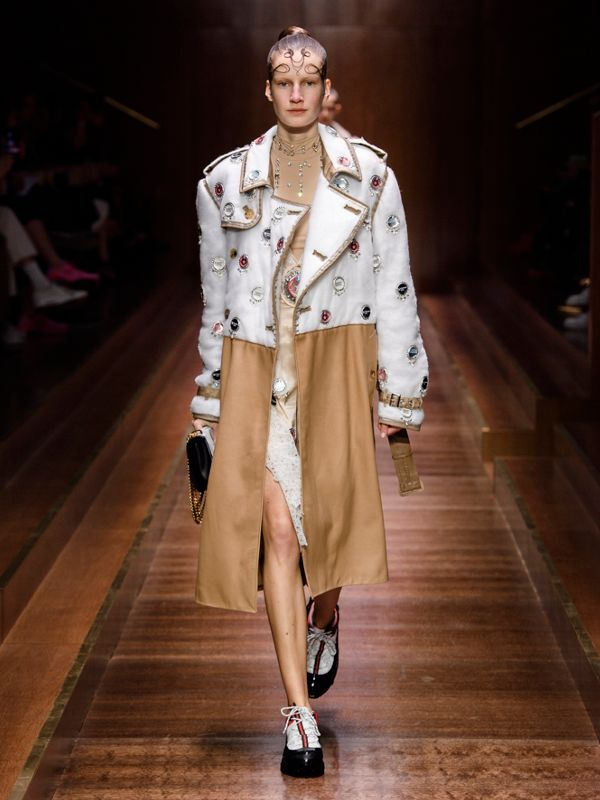 Faux Fur Tail Charm in Camel | Burberry - cell image 2