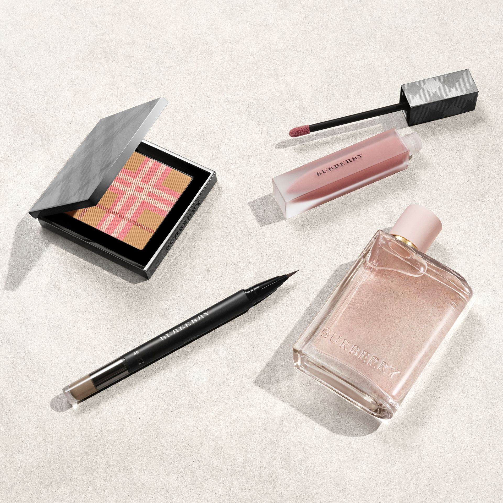 The Check Palette Blush & Bronzer Duo in Pink - Women | Burberry Singapore - gallery image 2