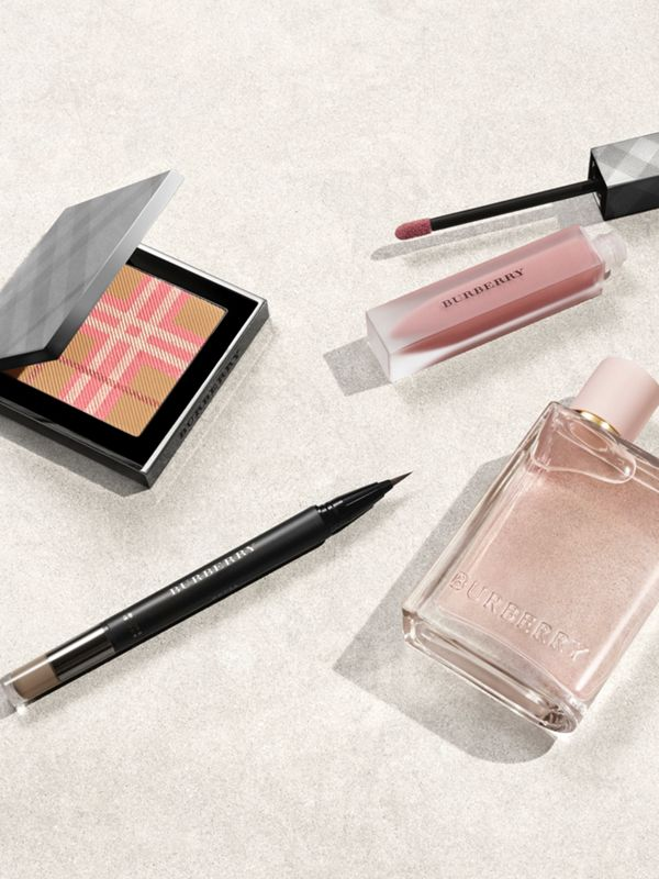The Check Palette Blush & Bronzer Duo in Pink - Women | Burberry Canada - cell image 2