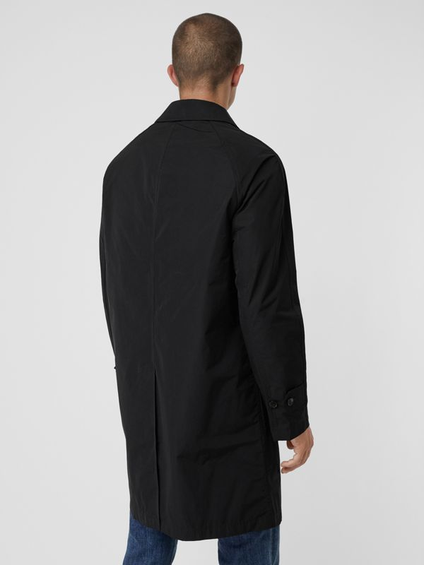 Shape-memory Taffeta Car Coat with Warmer in Black - Men | Burberry United Kingdom - cell image 2