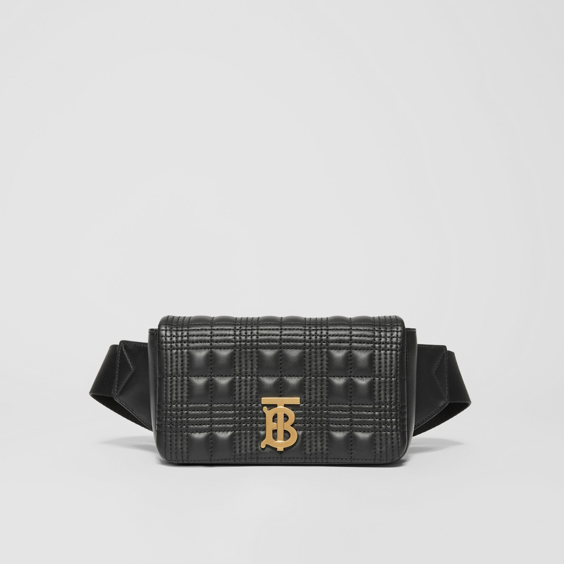 Quilted Lambskin Lola Bum Bag in Black - Women | Burberry Canada - gallery image 0