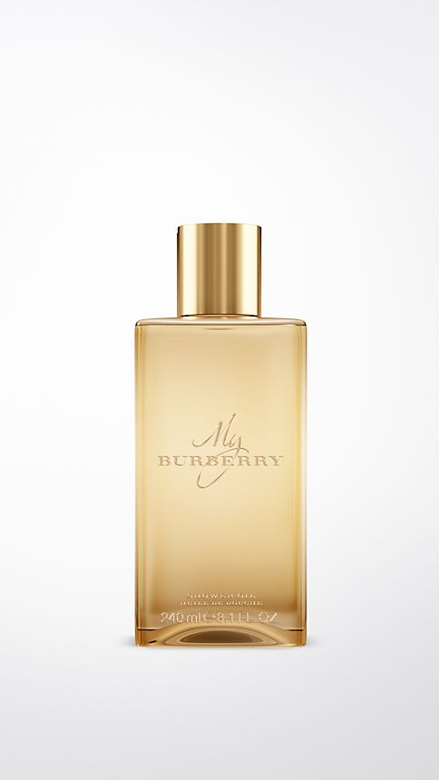 Honey trench My Burberry Shower Oil 240ml - Image 1