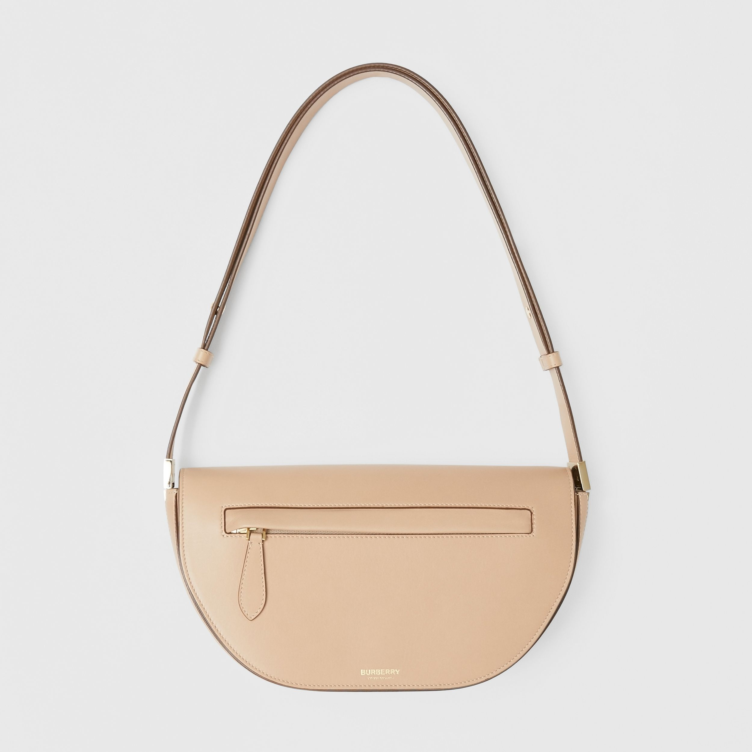 Small Leather Olympia Bag in Light Biscuit - Women | Burberry - 1