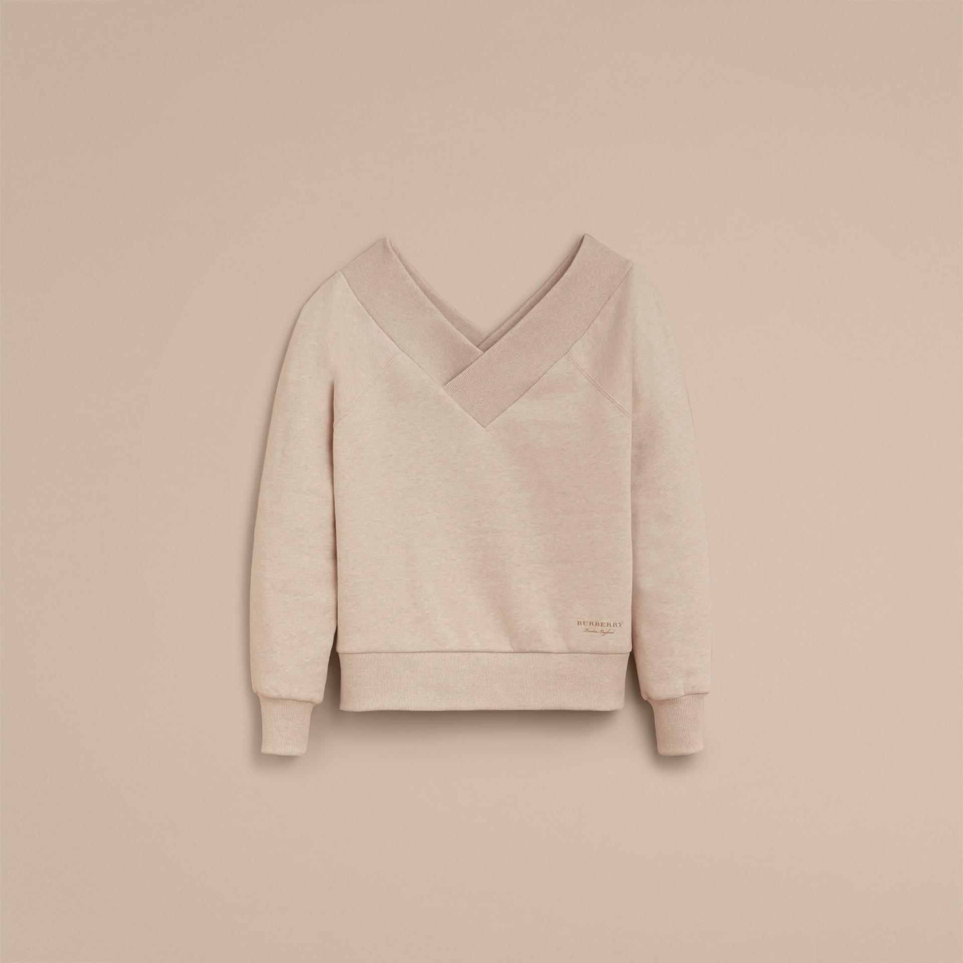 Off-the-shoulder Sweatshirt - gallery image 4