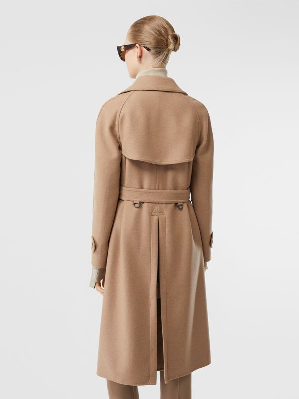 Double-faced Cashmere Trench Coat in Camel - Women | Burberry - cell image 2