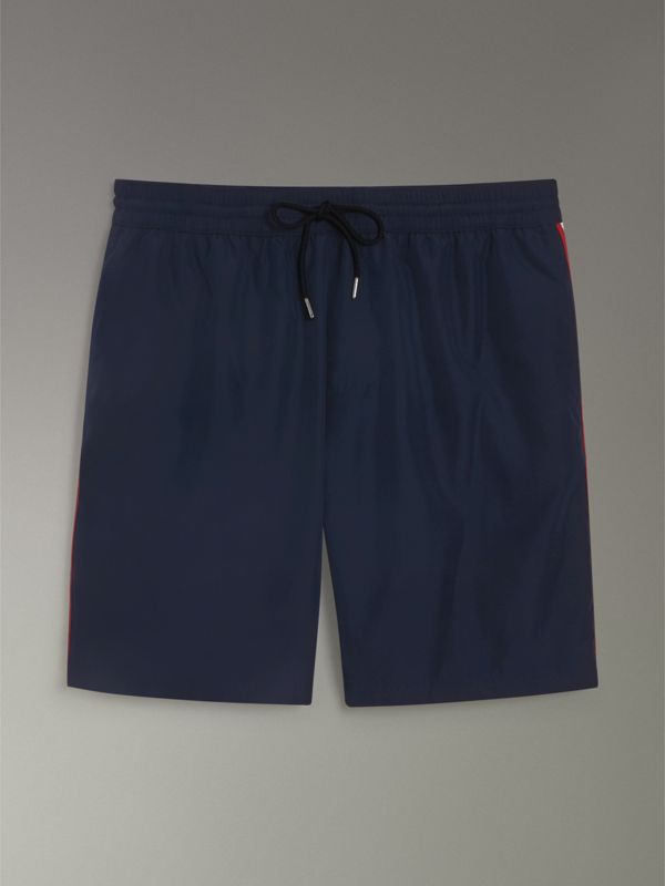 Drawcord Swim Shorts in Navy - Men | Burberry Singapore - cell image 3
