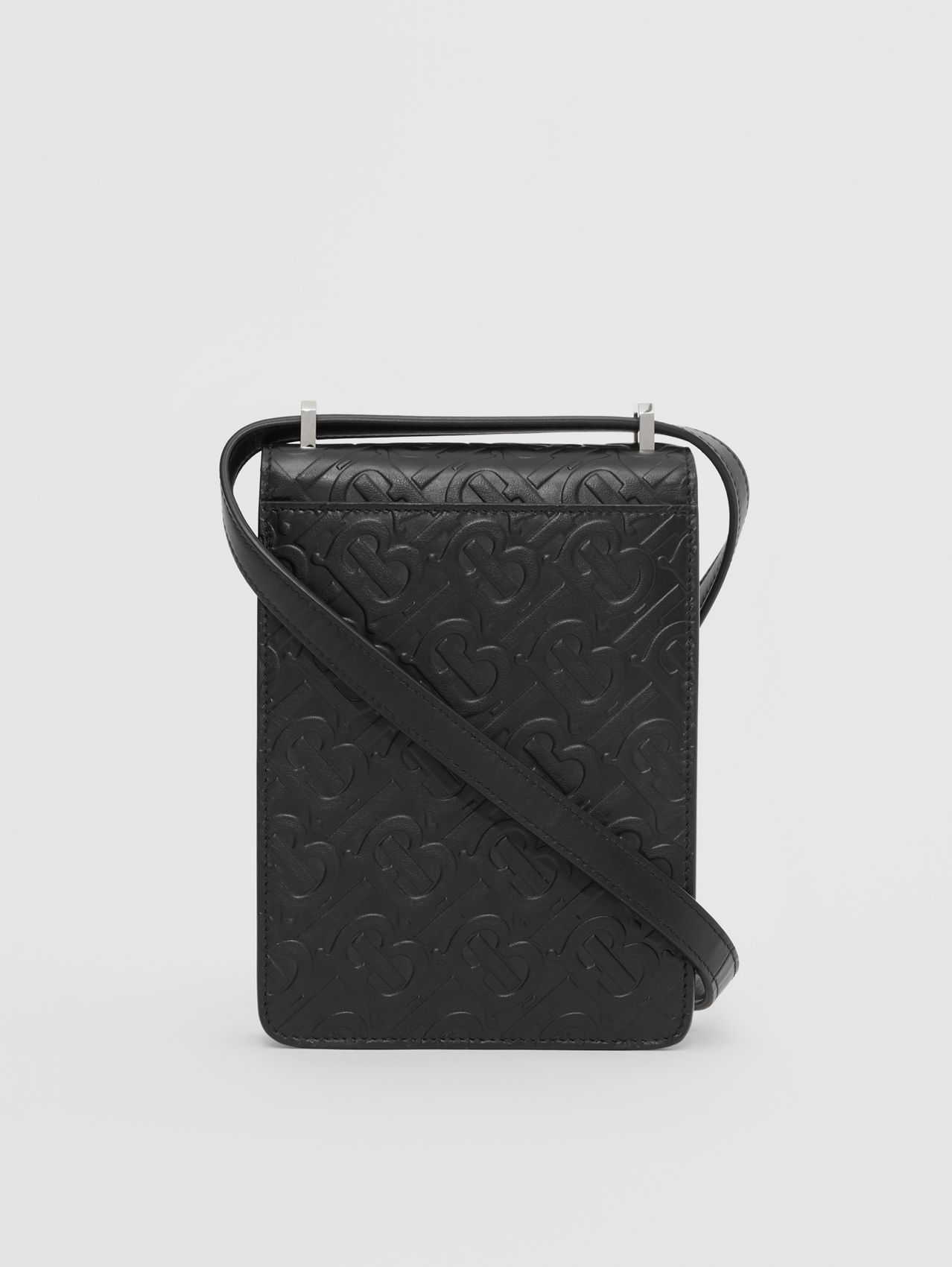 Monogram Leather Robin Bag (Black)